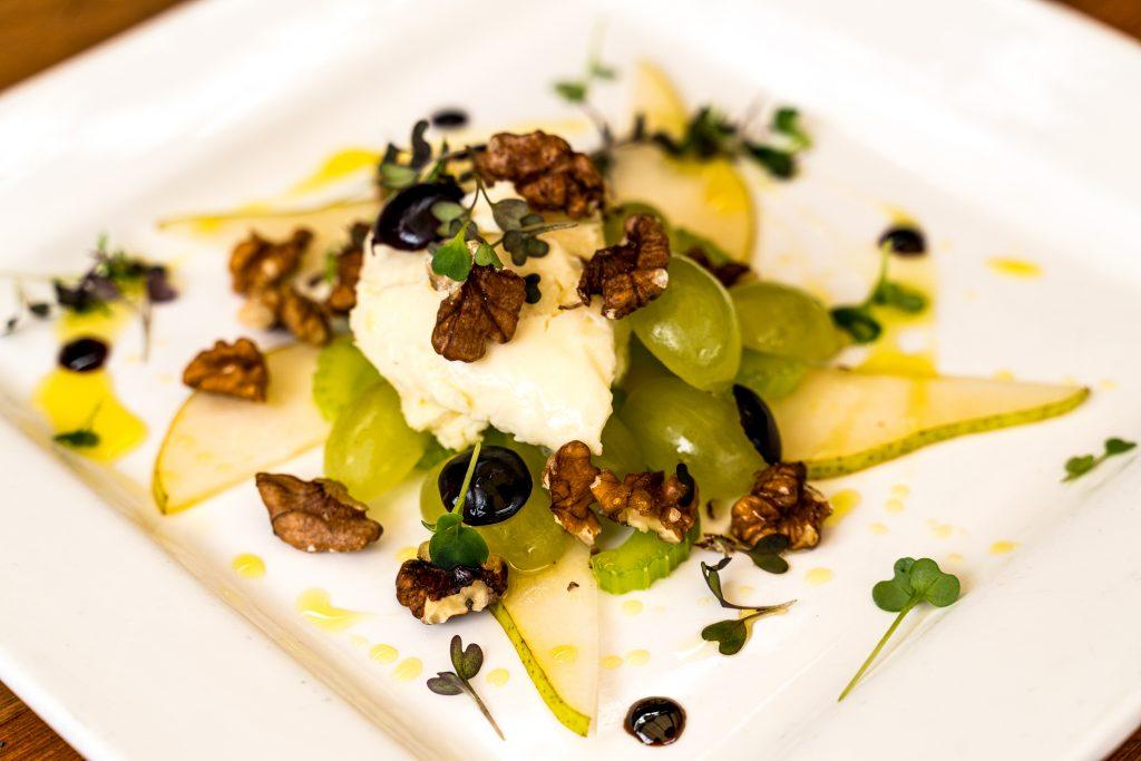 Walford salad & Cratloe Sheep's Cheese